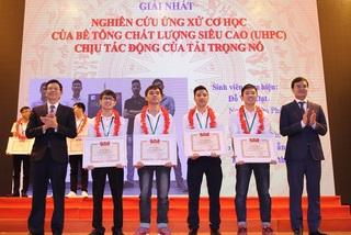 10 đề tài được trao giải Nhất cuộc thi Sinh viên nghiên cứu khoa học 2019