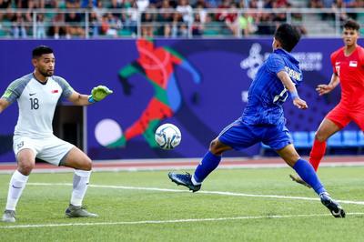 Video bàn thắng U22 Thái Lan 3-0 U22 Singapore