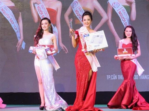 Can Tho University students win Vietnam-Japan Beauty Contest