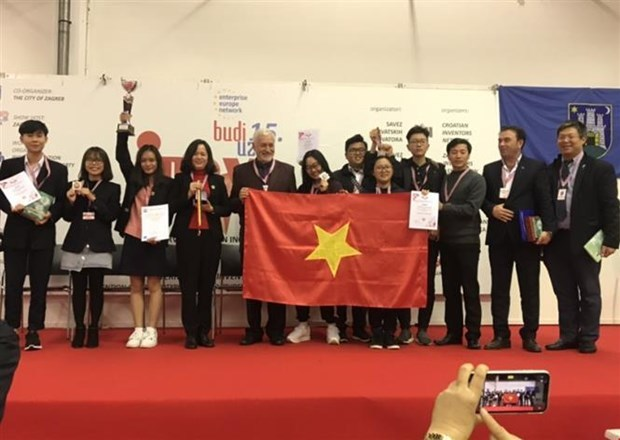 Vietnamese students,International Invention Show INOVA 2019,Croatian Inventors Network,World Invention Intellectual Property Associations,WIIPA,innovative products