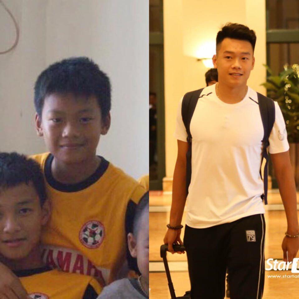 Tuổi thơ buồn của Thành Chung, cầu thủ gỡ hòa cho U22 Việt Nam
