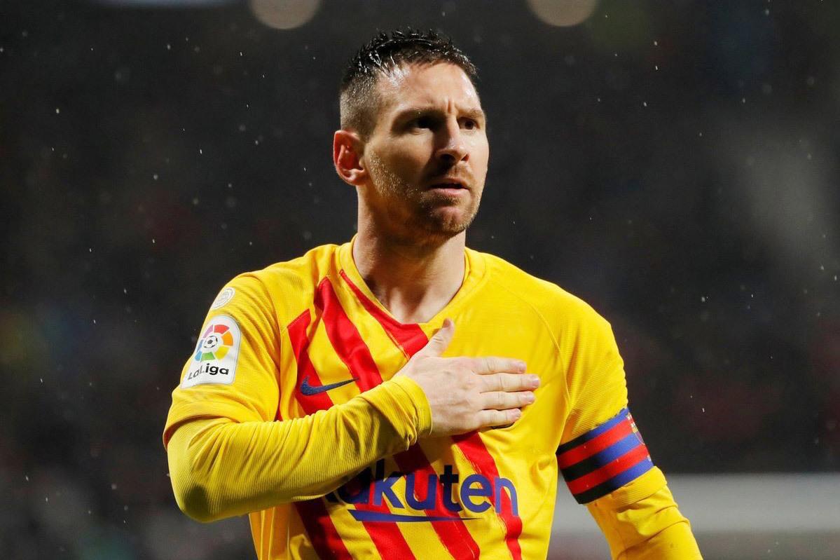 Messi vẽ tuyệt phẩm, Barca vượt ải Atletico