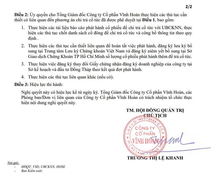 chứng khoán,Trương Thị Lệ Khanh,Thủy sản Vĩnh Hoàn,cổ phiếu thủy sản,xuất khẩu cá tra,xuất khẩu thủy sản