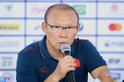 HLV Park Hang Seo: 'U22 Việt Nam tập kỹ tuyệt chiêu thắng Indonesia'