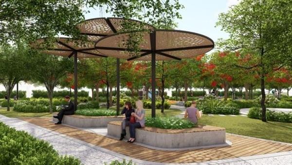 Dự án Zeitgeist - thêm nhiều mảng xanh cho khu vực Nhà Bè, TP.HCM