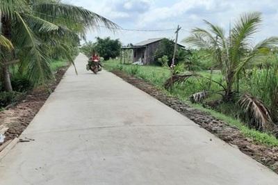 Phong trào xây dựng nông thôn mới ở xứ dừa Bến Tre