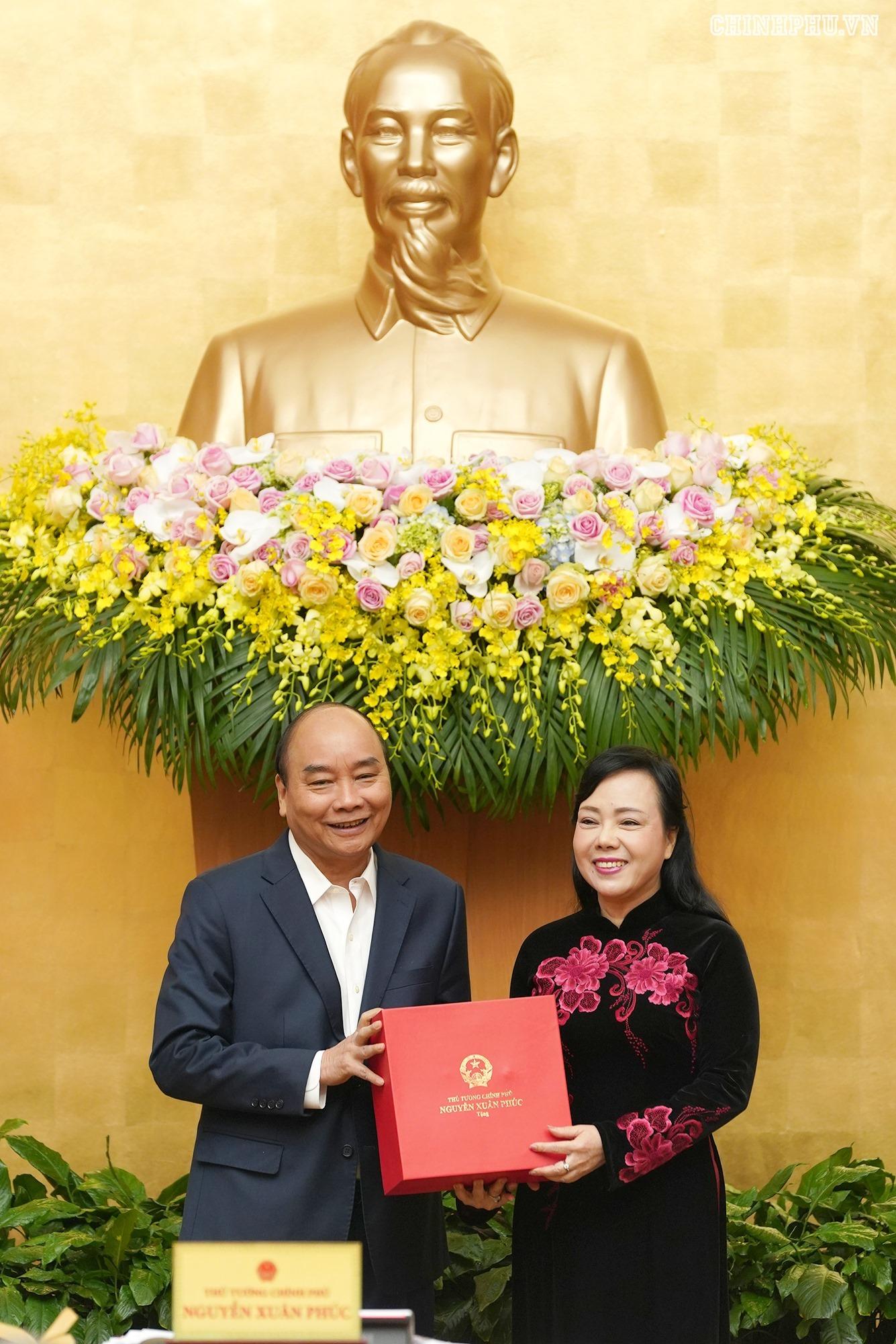 Nguyễn Thị Kim Tiến,Bộ Y tế,Nguyễn Xuân Phúc,Thủ tướng Nguyễn Xuân Phúc