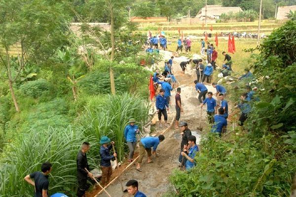 Nông dân Vị Xuyên chủ động cùng chính quyền tham gia xây dựng NTM