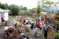 Nông thôn Bắc Quang đổi mới từng ngày nhờ hạ tầng được xây dựng khang trang