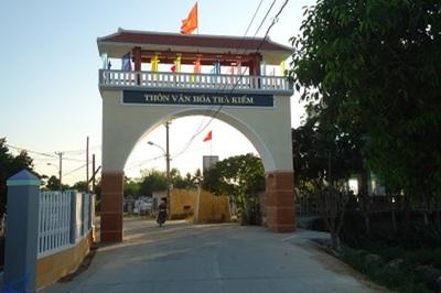 Xây dựng NTM: Hòa Phước khang trang, đường làng sạch đẹp