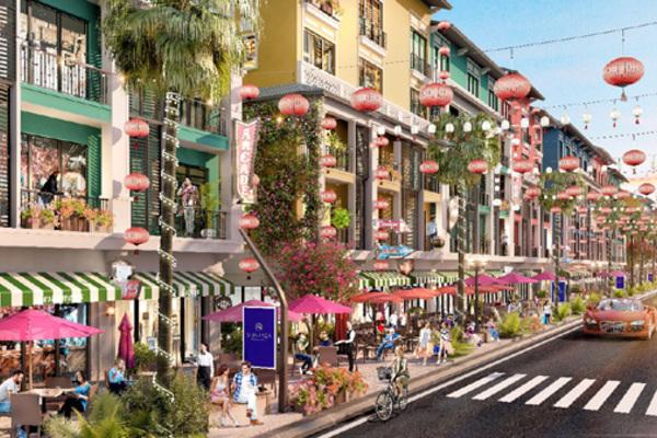 Vân Đồn sắp có phố thương mại đầu tiên mang phong cách Singapore