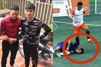 Cầu thủ dẫm chân lên mặt đối phương gây co giật đã xin lỗi, dân mạng vẫn tìm đến tận nhà đòi trả đũa
