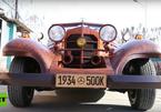 Mercedes-Benz làm từ gỗ đẹp long lanh, chạy được 90 km/h