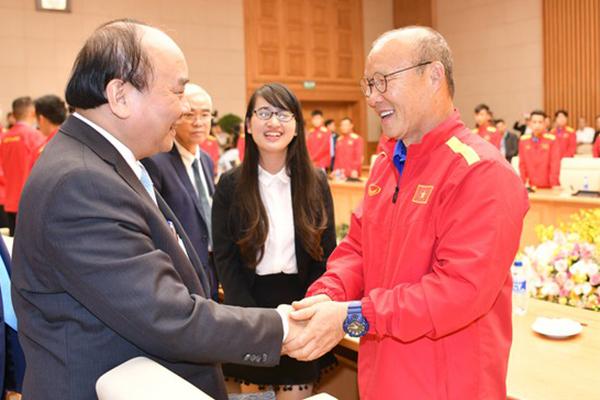 Thủ tướng chúc thầy trò HLV Park mạnh mẽ, thành công hơn nữa
