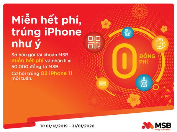 ưu đãi cuối năm,iPhone 11,giao dịch tài chính,ngân hàng điện tử