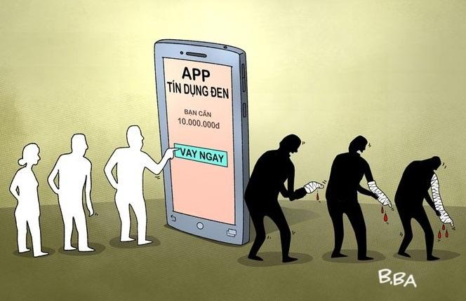 vay tiền qua app,vay qua app,tín dụng đen,vay tiền trực tuyến,tín dụng tiêu dùng,cho vay nặng lãi,vay tiền online