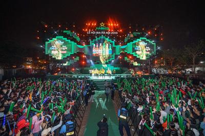 2 vạn khách hàng 'cháy' cùng Lễ hội Bia Hà Nội 2019