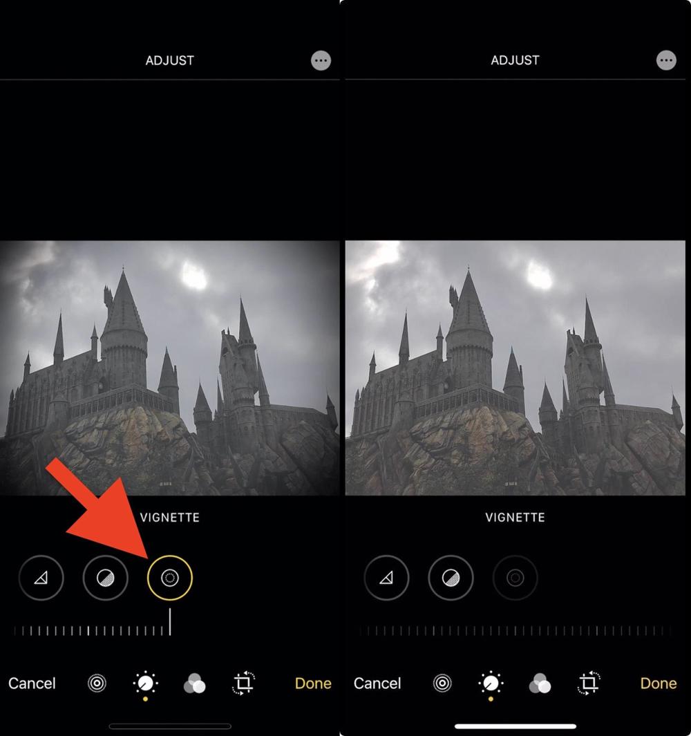 Cách bật tắt hiệu ứng chỉnh sửa ảnh trên ứng dụng Photos của iOS 13