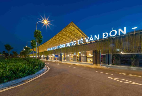Cảng HKQT Vân Đồn - cửa ngõ đón đầu tư quốc tế vào Quảng Ninh
