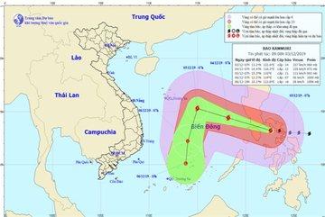 Kammuri forecast to enter East Sea