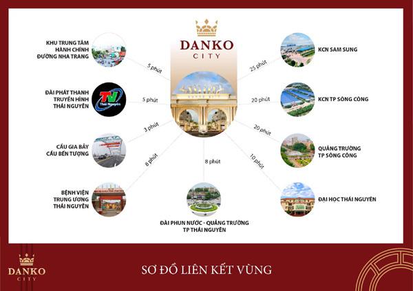 Danko City Thái Nguyên - thế mạnh từ vị trí 'tam cận đắc lộc'