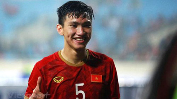 Vietnamese defender Doan Van Hau second at AFC Youth Player of 2019
