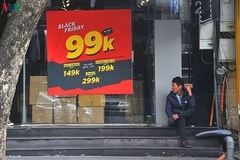 Quiet Hanoi and bustling Ho Chi Minh City on Black Friday 2019