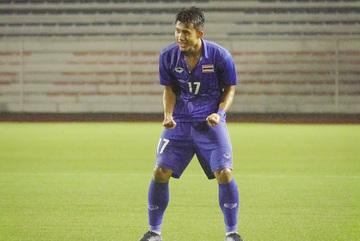 Video bàn thắng U22 Thái Lan 2-0 U22 Lào