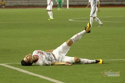 Quang Hải rời sân sớm phút 23, liệu có thể đấu Thái Lan?