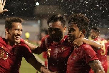 U22 Indonesia trút mưa 8 bàn thắng vào lưới U22 Brunei