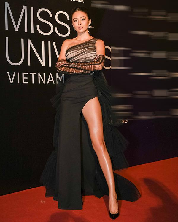 Hương Giang, Vũ Thu Phương đọ chân dài trên thảm đỏ