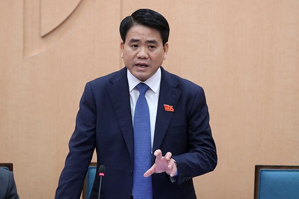 Chủ tịch Hà Nội,Nguyễn Đức Chung,Nhật Cường Software,sông Tô Lịch,giá nước,nước sông Đuống,nước sạch