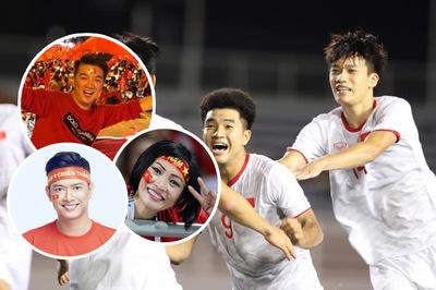 Mr. Đàm, Lại Văn Sâm thở phào trước bàn thắng của Hà Đức Chinh