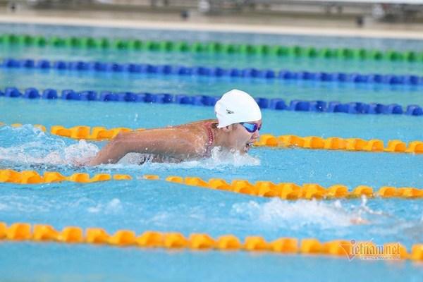 Video Ánh Viên giành HCV bơi 200m hỗn hợp