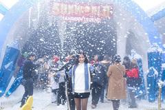 Mùa đông, lạc vào 'xứ sở pha lê' ở Sun World Fansipan Legend