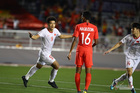 Đức Chinh dở khóc dở cười thử doping sau trận thắng Singapore