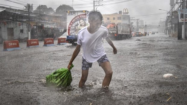 Typhoon Kammuri kills at least two in Philippines