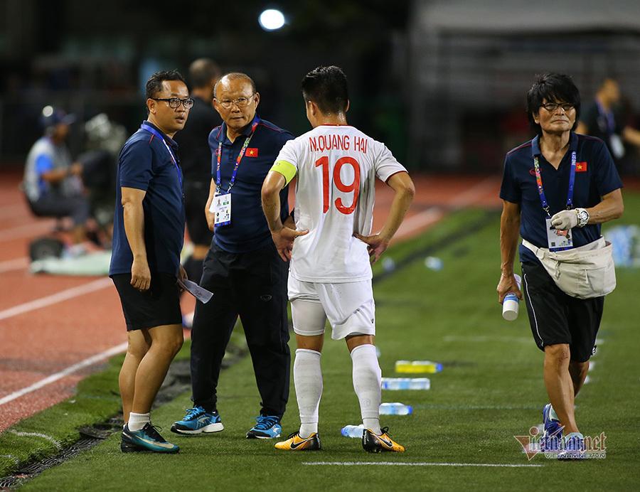 Thực hư chuyện Quang Hải chấn thương chia tay SEA Games