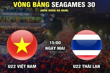 Xem trực tiếp U22 Việt Nam vs U22 Thái Lan ở kênh nào?