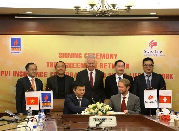 PetroVietnam Insurance Corporation,Swiss Life Network,agreement on comprehensive cooperation,Pool Network,Global Employee Benefits Solutions,Vietnam,Viet Nam News