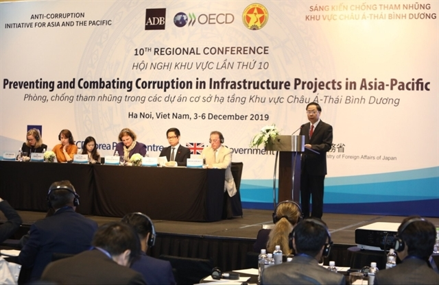 Experts gather in Hanoi to discuss anti-corruption