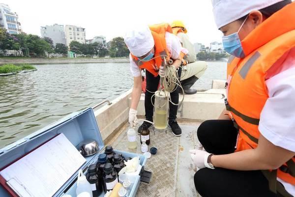 Lý do HN chưa công bố kết luận thanh tra việc dùng hoá chất làm sạch hồ