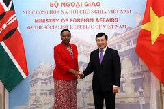 Vietnam, Kenya agree on measures to boost ties