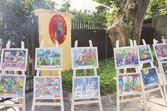 Paintings of Denmark through Vietnamese children's eyes