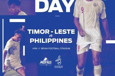 Link xem trực tiếp U22 Philippines vs U22 Đông Timor, 15h ngày 4/12
