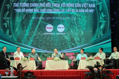 Thủ tướng sẽ đối thoại với nông dân tháo gỡ vướng mắc trong nông nghiệp