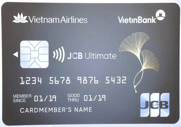 Ra mắt thẻ VietinBank JCB Ultimate Vietnam Airlines