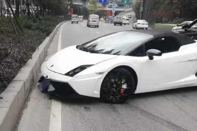 Nhân viên lái siêu xe Lamborghini của khách gây tai nạn thiệt hại hơn 260 triệu đồng