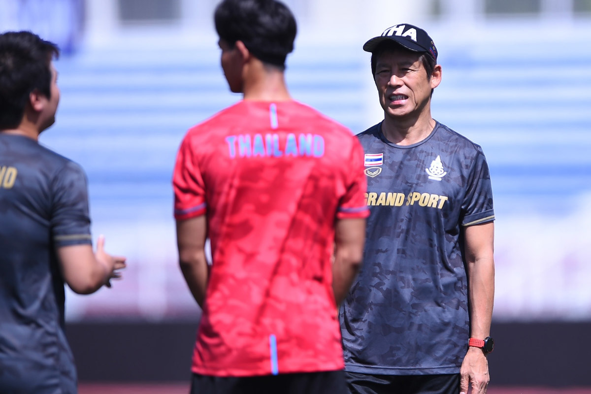 Akira Nishino: 'U22 Thái Lan quyết thắng U22 Việt Nam'