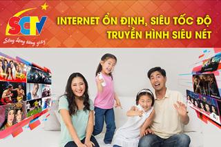 Lợi đơn lợi kép với 'combo' truyền hình và internet SCTV